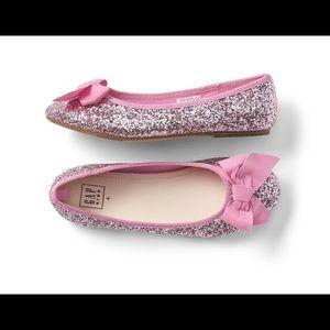 GapKids Pink Sparkle Flats